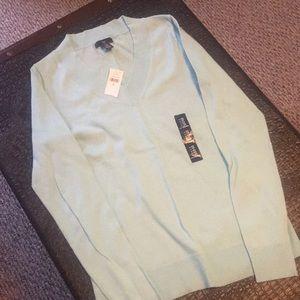 Gap light blue v neck sweater